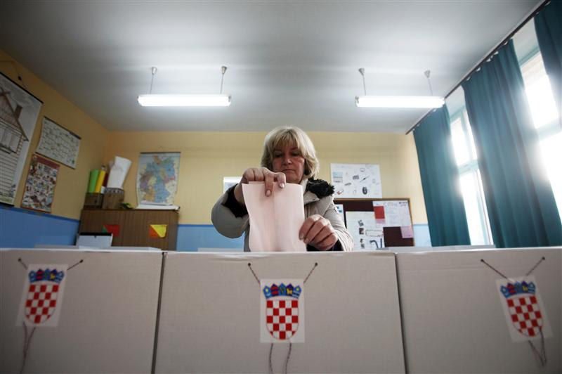 European elections in Croatia