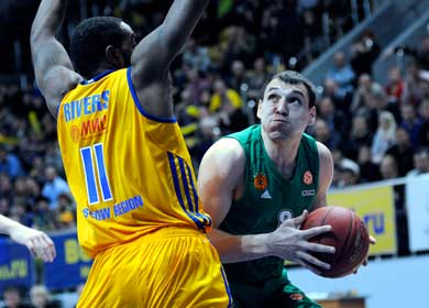 Panathinaikos wins by 22 at Brose Baskets Bamberg