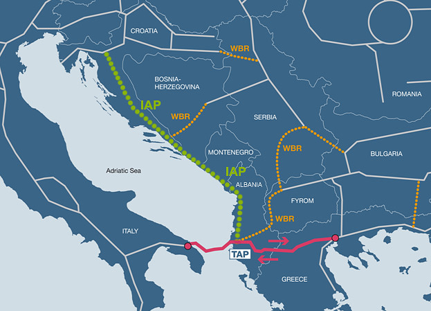 Construction of the pathways of TAP gas in Albania to start next year