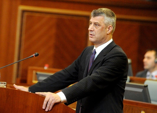 Thaci: We have extended the foundations of the state throughout the whole of Kosovo