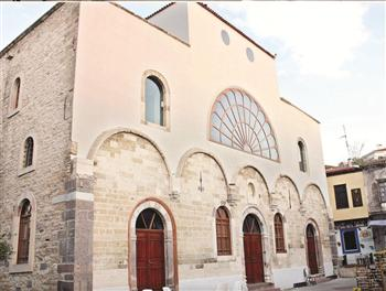 Hagia Haralambos Church restored into arts center