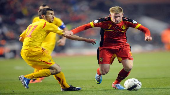 FYRO Macedonia loses to Belgium in World Cup qualifiers