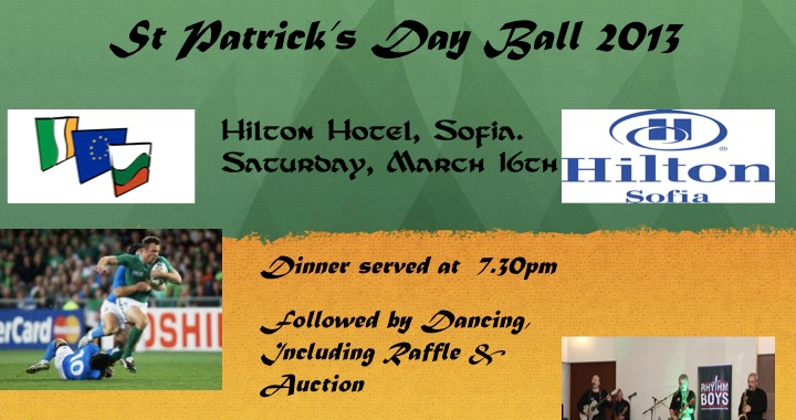 St Patrick's Day charity ball
