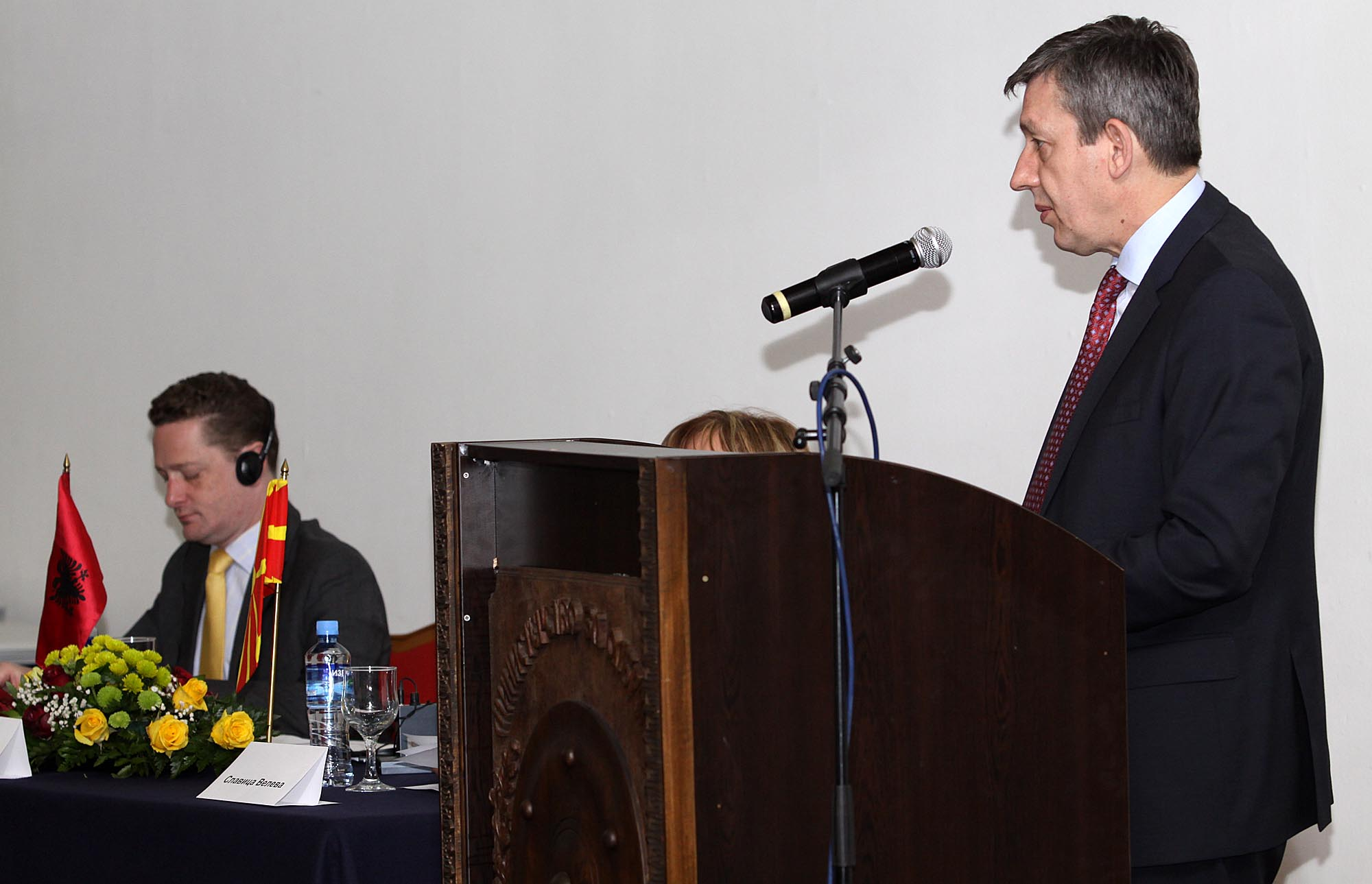 Xhaferri: NATO and EU accession obstacles should be overcome