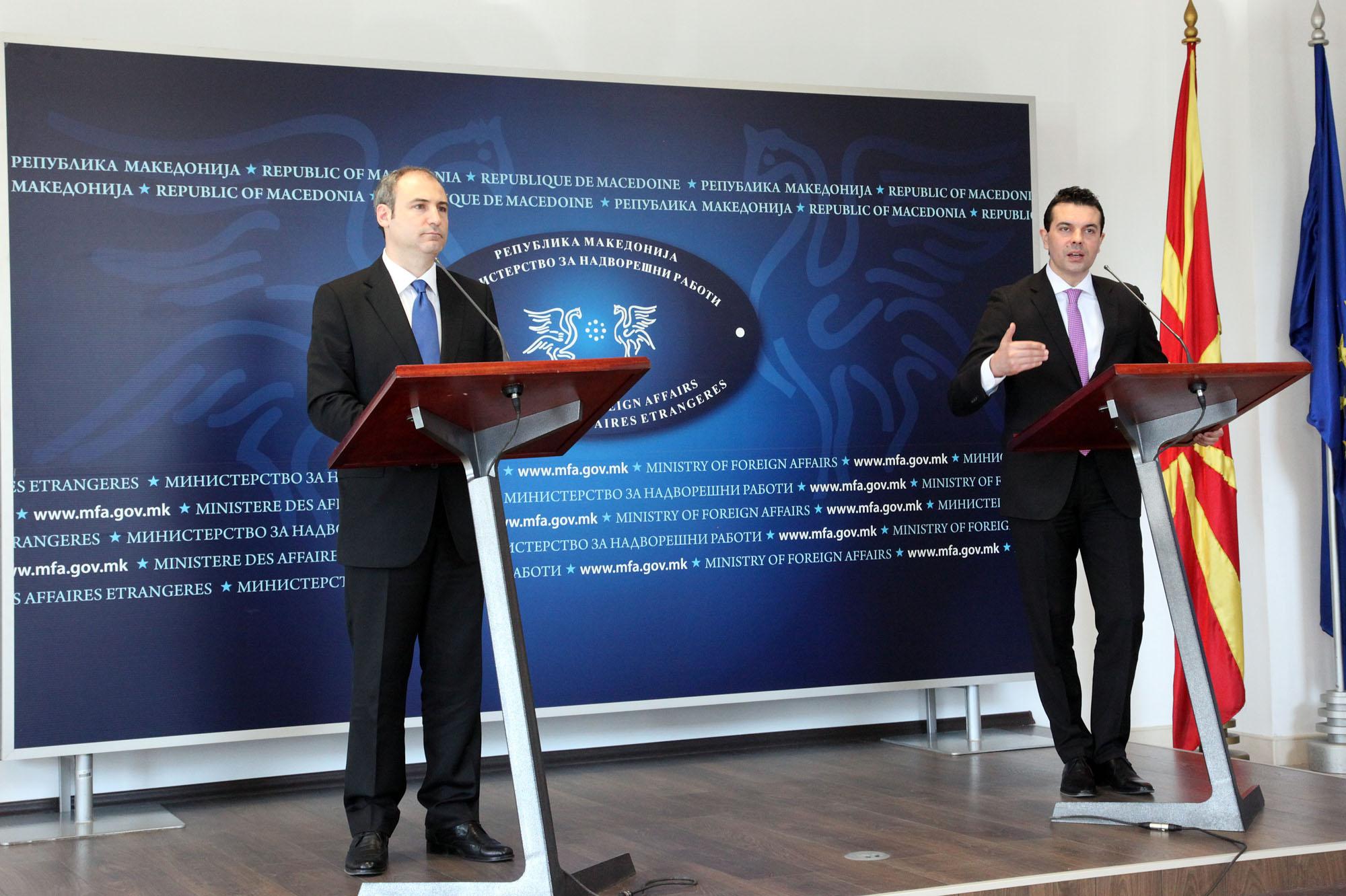 Bumçi-Popovski: Albania has been consistent toward FYRO Macedonia