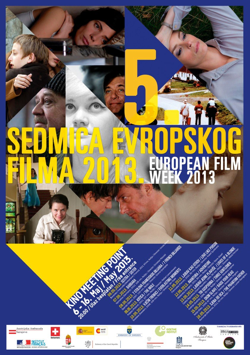 European Film Week 2013 Contributes to Drawing Attention on Quality Works in the Film Industry in Europe