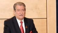 Prime Minister Sali Berisha congratulates the newly elected Italian counterpart