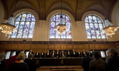 International Court of Justice in The Hague may declare itself incompetent, expert warns