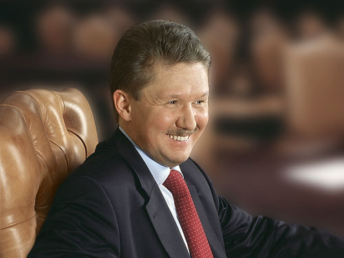 Gazprom Chairman Meeting PM Bratušek