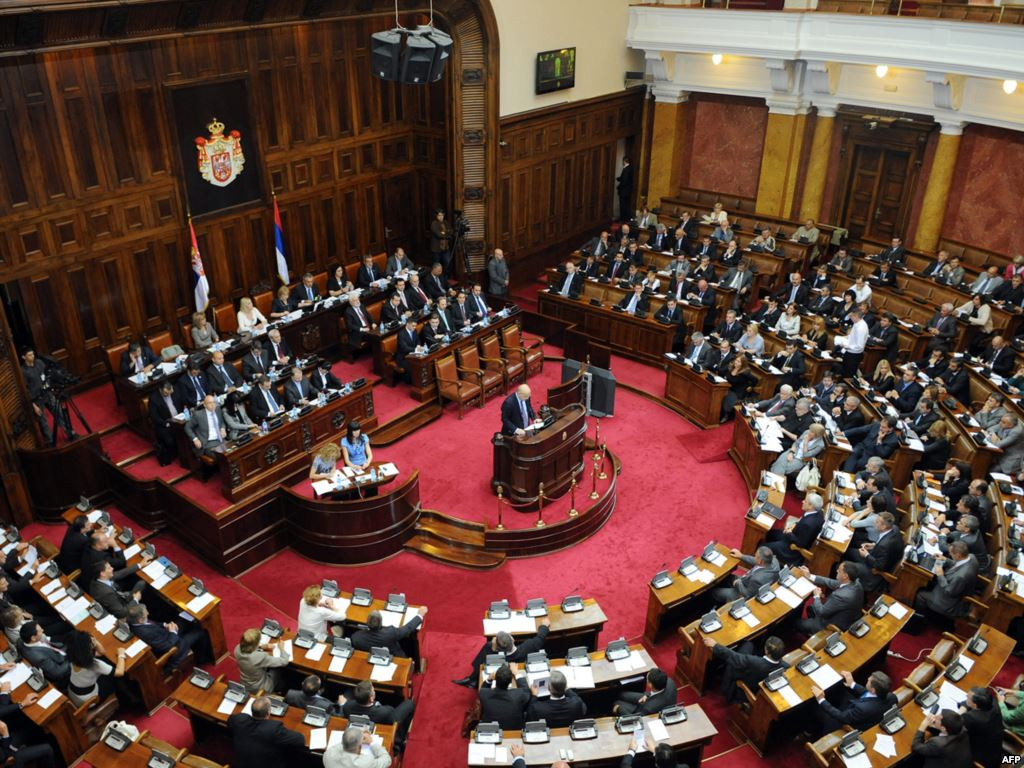 Serbian Parliament supports agreement about Kosovo