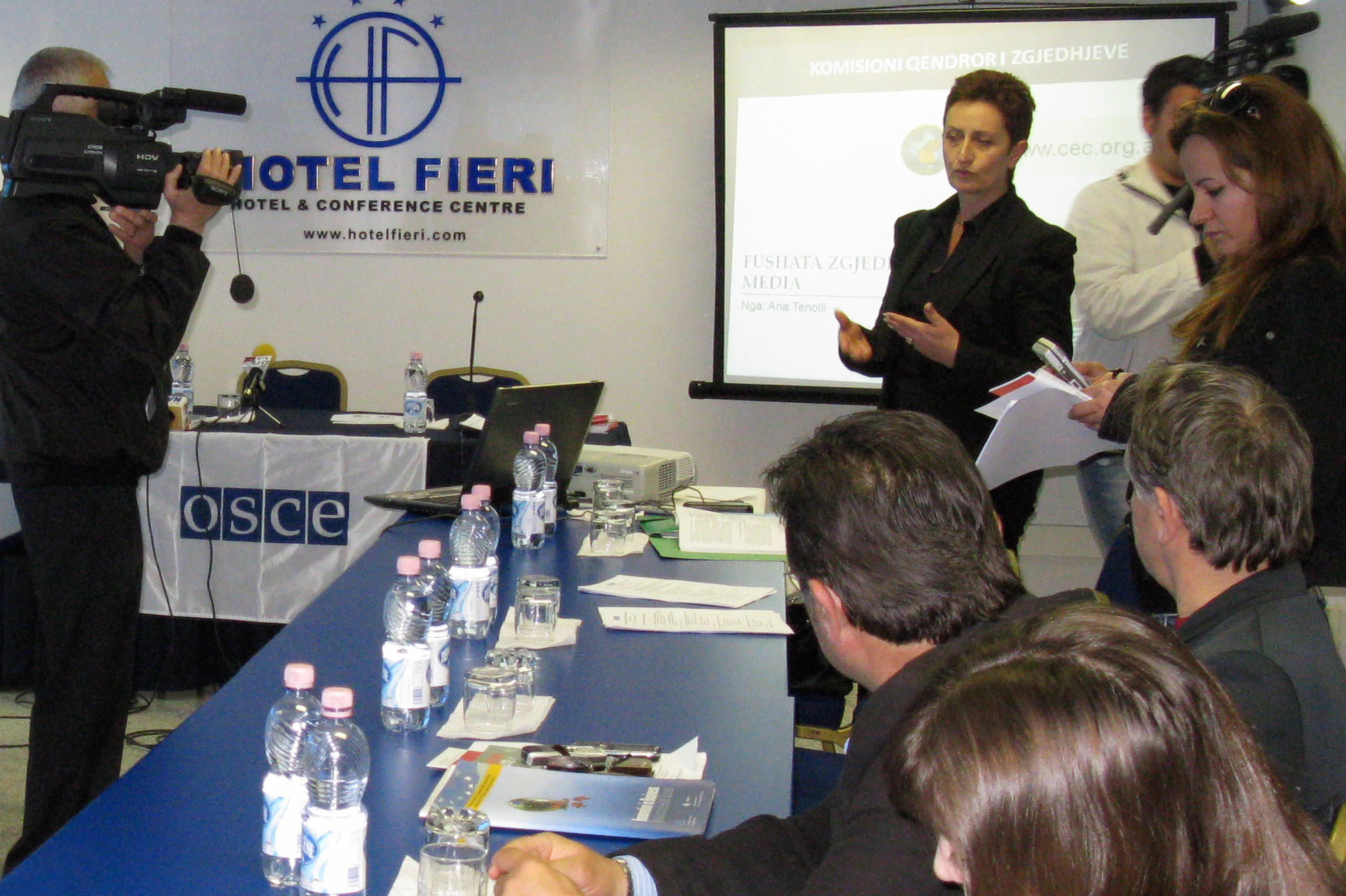 OSCE Presence supports Albanian Central Election Commission train-the-trainers course for electoral commissioners