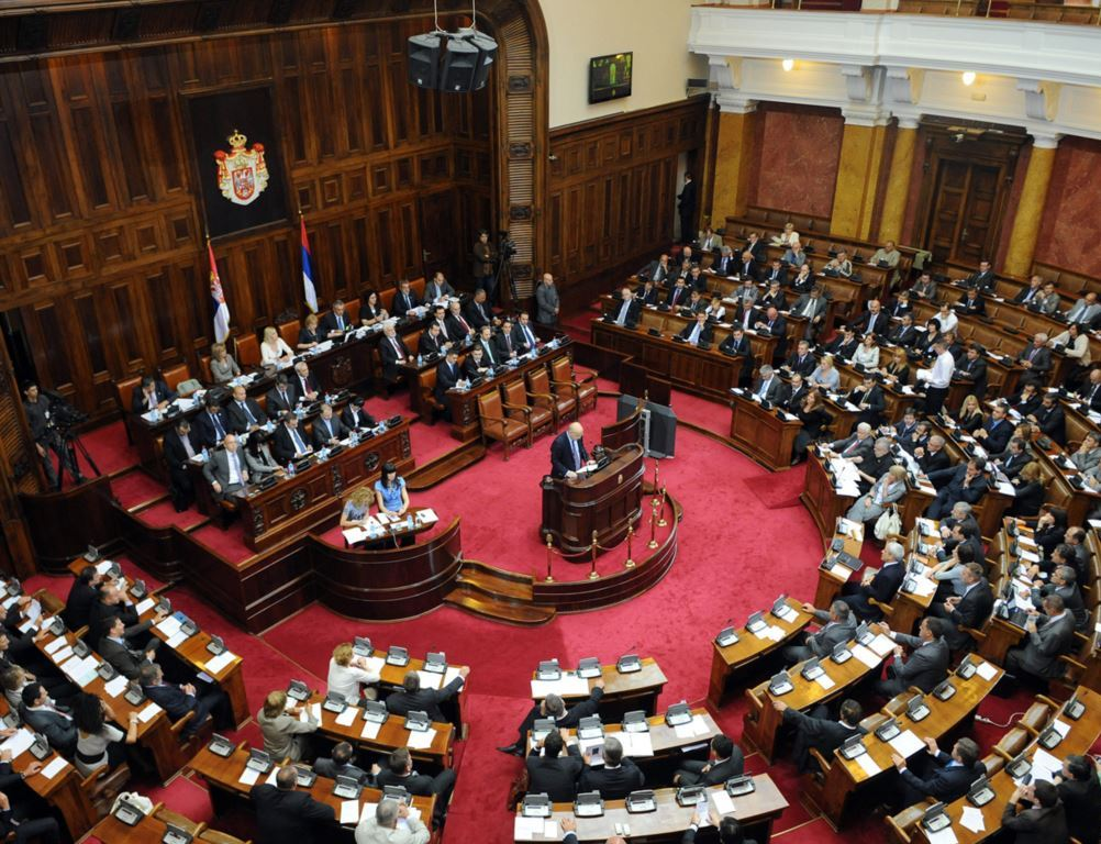 Serbian parliament will discuss today the Brussels agreement
