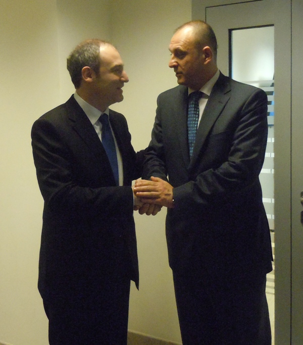 Foreign Minister Bumci praises the role of the Serbian deputy Prime Minister