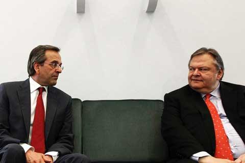 Samaras and Venizelos to make show of unity at construction site