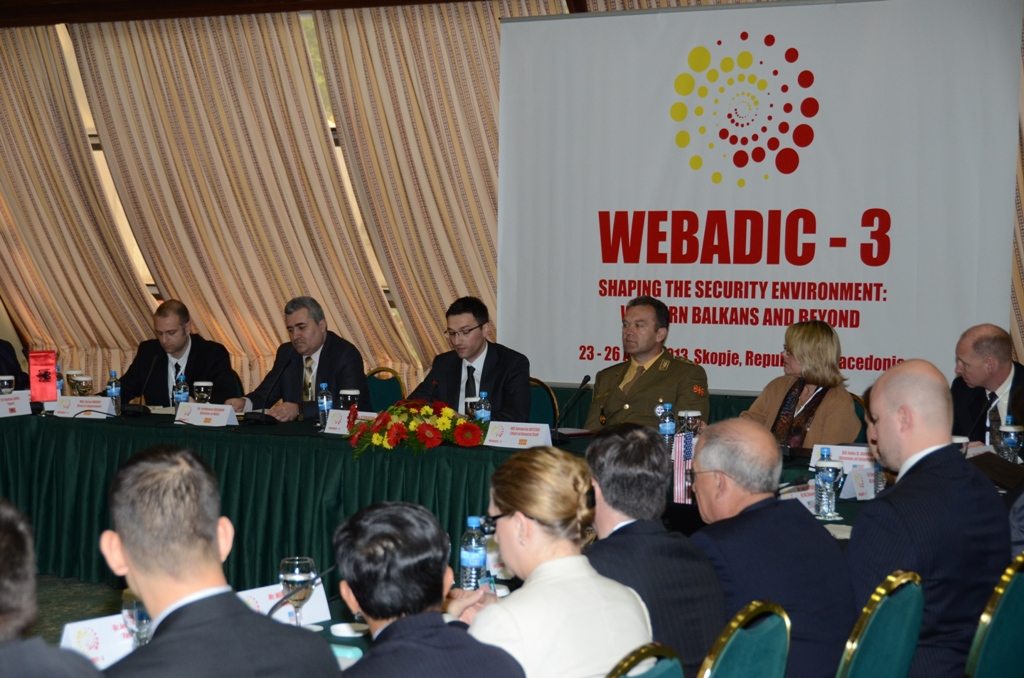 Skopje hosts the conference of the heads of military intelligence services of the Western Balkan