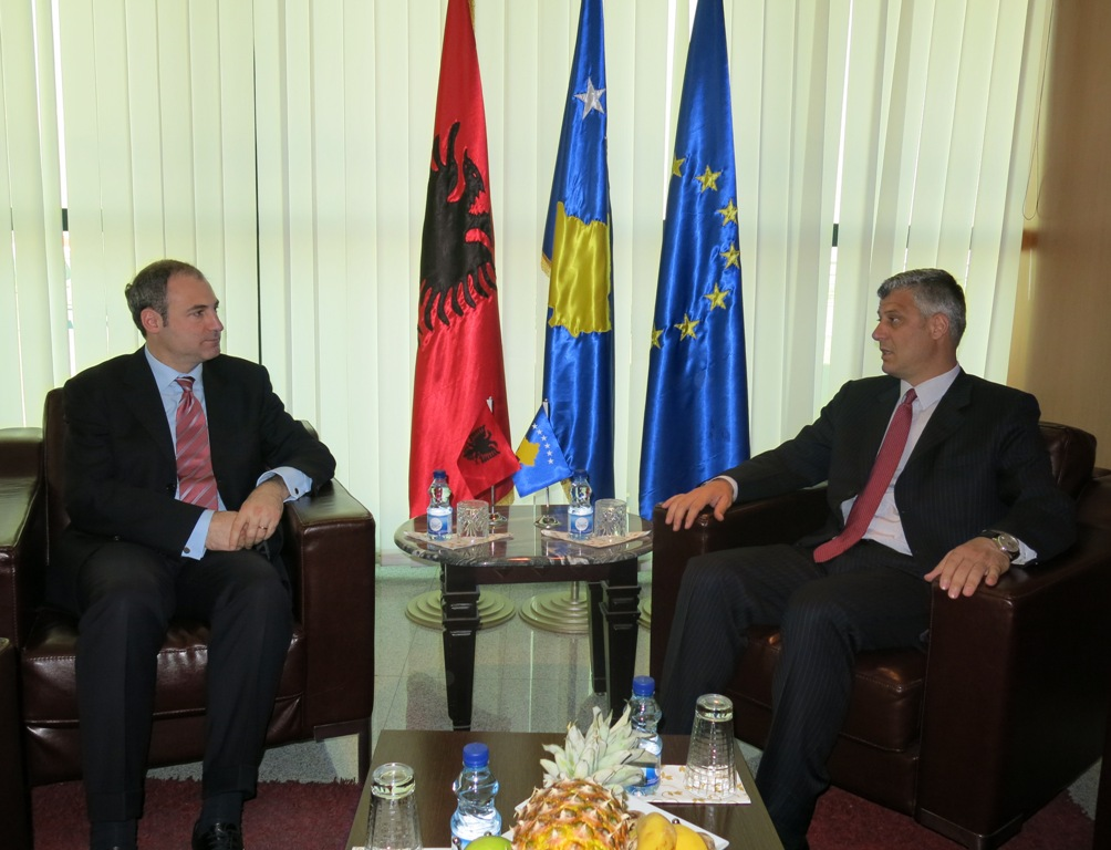 Albanian Foreign Minister holds a two day official visit in Kosovo