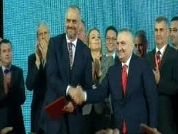 """SP and SMI formalize their """"Alliance for a European Albania"""" coalition"""