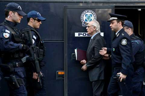 Tsochatzopoulos denies money laundering at landmark trial