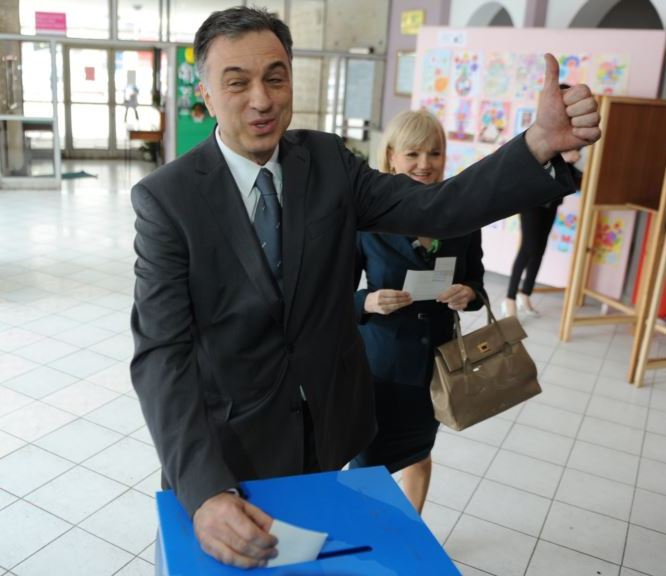 State Election Commission declares Vujanovic as the new President of Montenegro