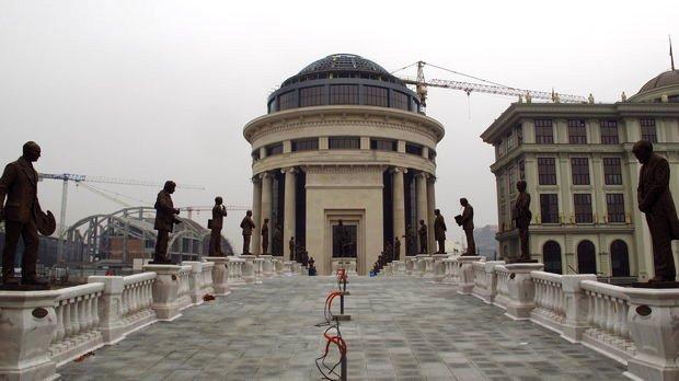 """Cost for """"Skopje 2014"""" over 207 million Euros"""