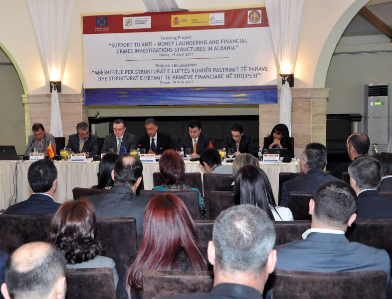 EU supports the fight against money laundering in Albania
