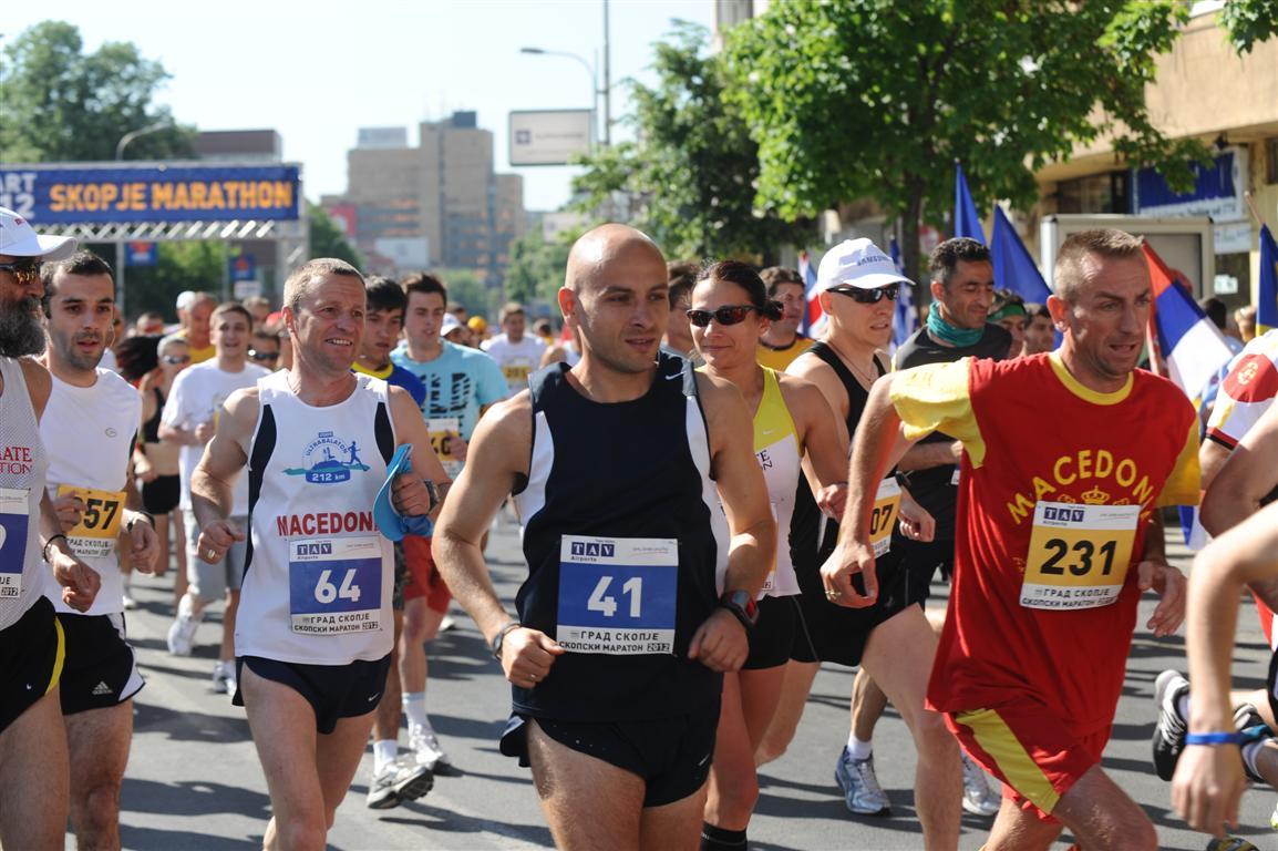 Marathon takes place in Skopje to honor the Boston marathon victims