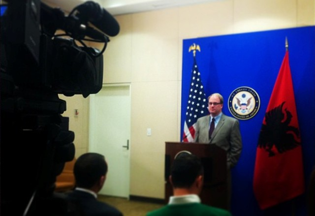 Director for Central and South Europe in the Department of State: Concerns about the political tension in Albania