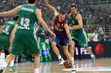 Panathinaikos pegs Barcelona down again
