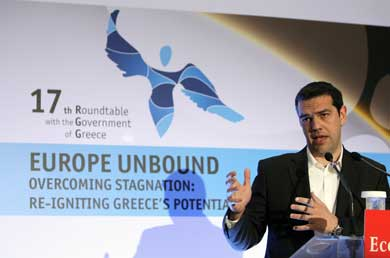 Tsipras says Cyprus has changed bailout dynamic, sees 'suspension' of memorandum