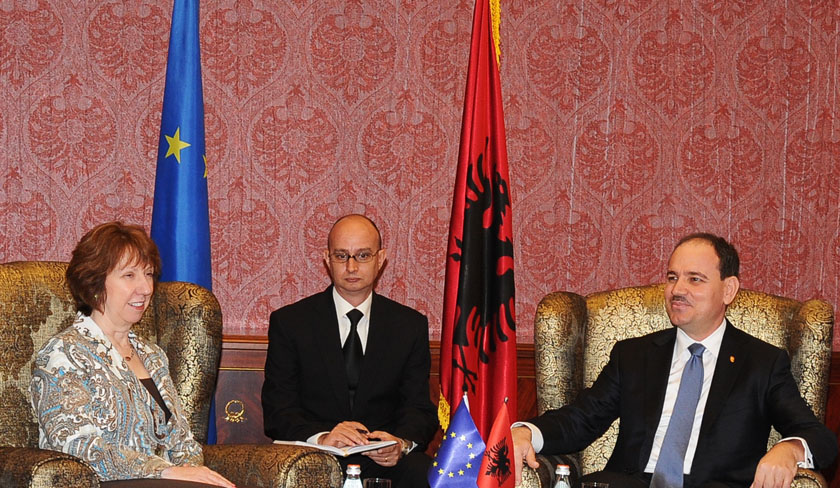 Nishani held a meeting with the Vice-President of the European Commission