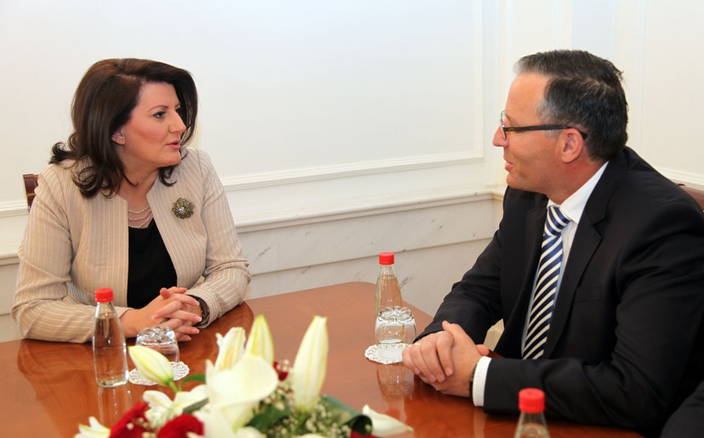 President Jahjaga: Kosovo is an example in the region as far as the stability and financial sustainability are concerned