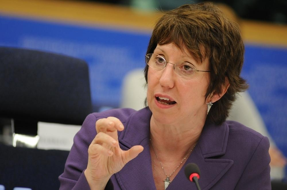 Baroness Catherine Ashton starts a tour of official meetings in three Balkan countries