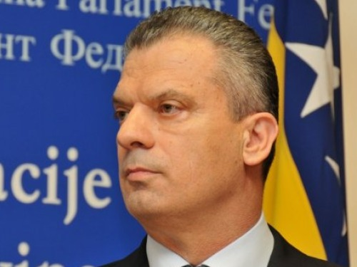 BiH Minister of Security in Strasbourg at Meeting With Jagland
