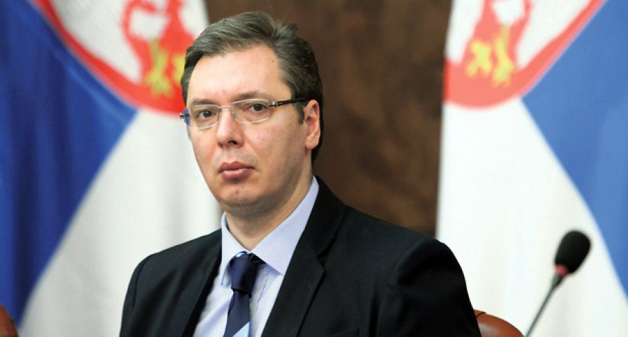 Vucic calls for dignified protest