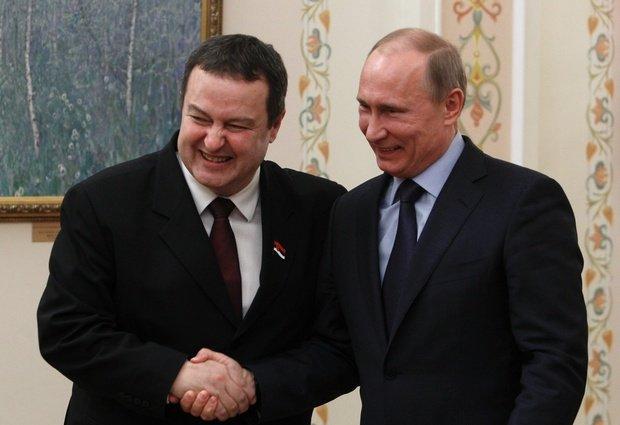 Russia, Serbian best friend