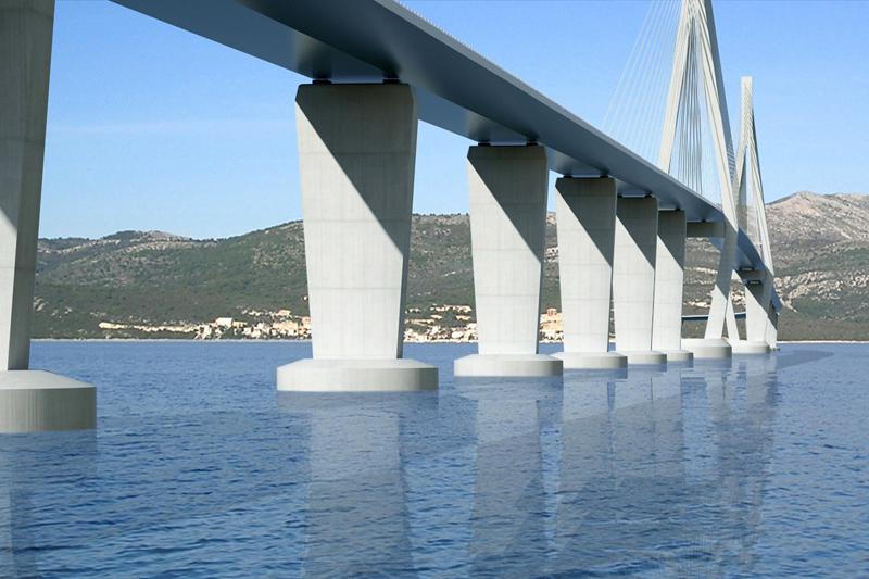 Still no money for Peljesac bridge