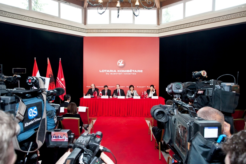 Official introduction of National Lottery in Albania