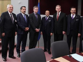 Turkish delegation in Brussels stages full-court press to open new chapter