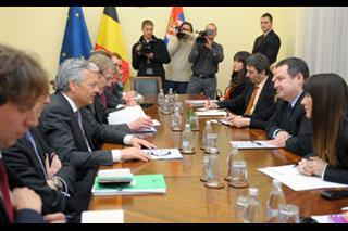 Dacic, Reynders: Cooperation should improve