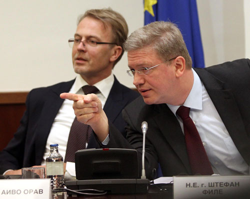 Fule: Parties should commit to F.Y.R.O. Macedonia's EU integration