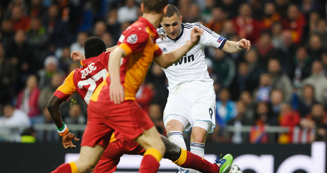 Galatasaray faces huge Real Madrid task in Europe