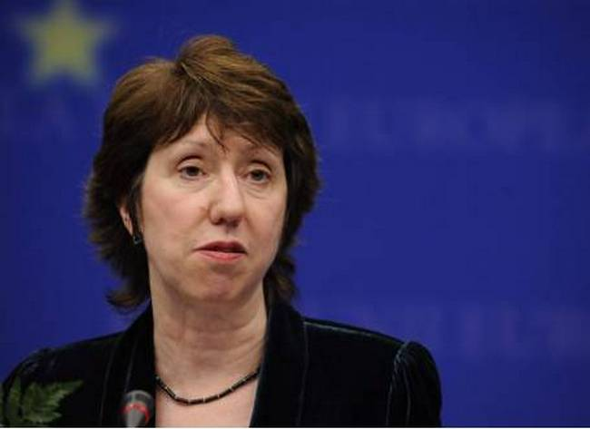 The EU High Representative on Foreign Affairs, Ashton, laments Serbia's decision