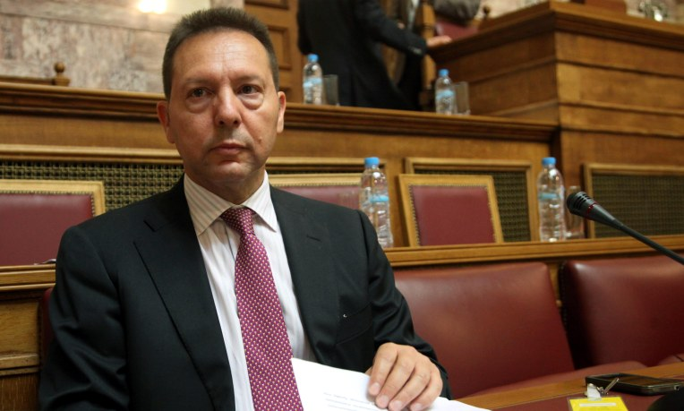 Stournaras says Greek deposits safe but not sure when troika talks will conclude