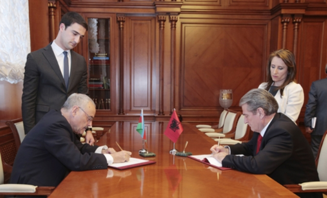 Council of Ministers of Albania sign cooperation Agreement with Azerbaijan Government