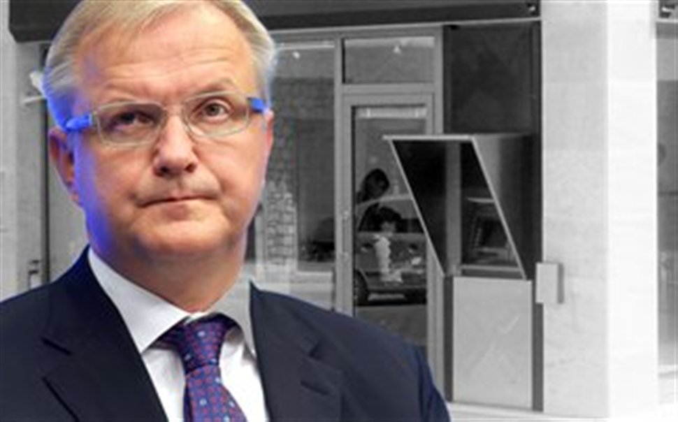 """Rehn: """"We are preparing a directive for haircut on deposits"""""""