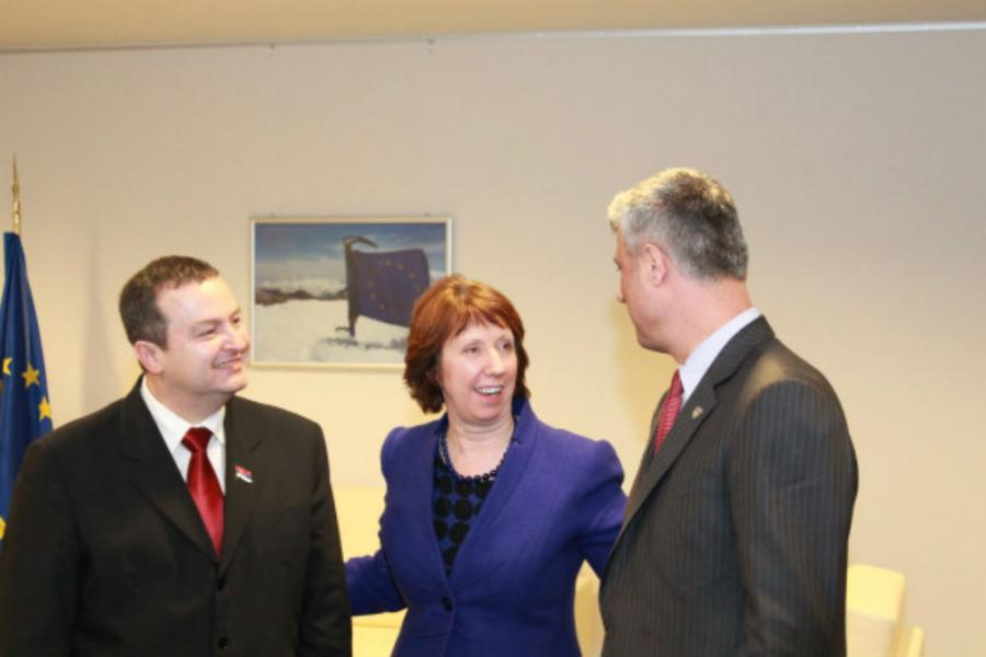 Reeker meets Thaçi, U.S. in favor of a fair solution of pending issues between Kosovo and Serbia
