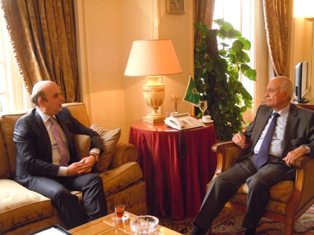 Minister of Foreign Affairs Edmond Panariti's second day of Egypt visit