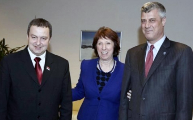 Kosovo's Prime Minister says he went to Brussels to meet Dacic and reach an agreement with Serbia