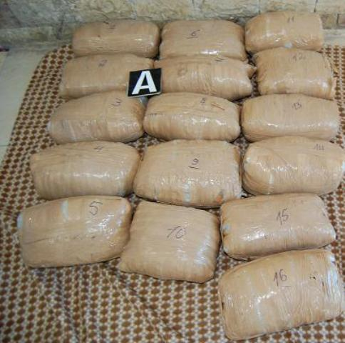 17,5 kg of marijuana seized in the Serb-Hungarian border, two Albanians arrested