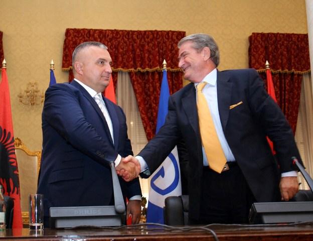 European Socialist Parties' demand that Meta joins Rama, Berisha meets SMI Head